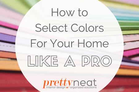 The Easy Way to Select Colors Like a Pro   Pretty Neat   Syracuse     Selecting colors for your home can be a daunting task  That wall of  swatches at the paint store is totally overwhelming  and most people are so  afraid of