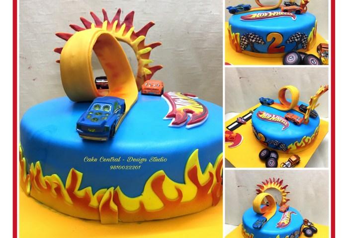 Birthday Cakes In Delhi Online Order Fondant Theme Birthday Cakes