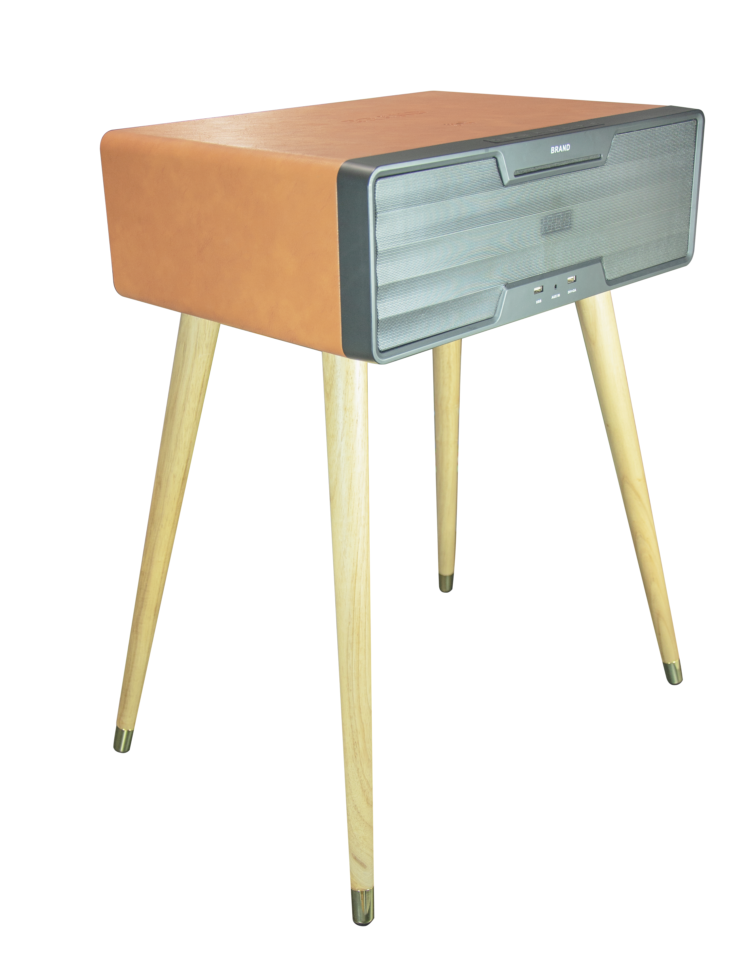 prevail bluetooth speaker side table