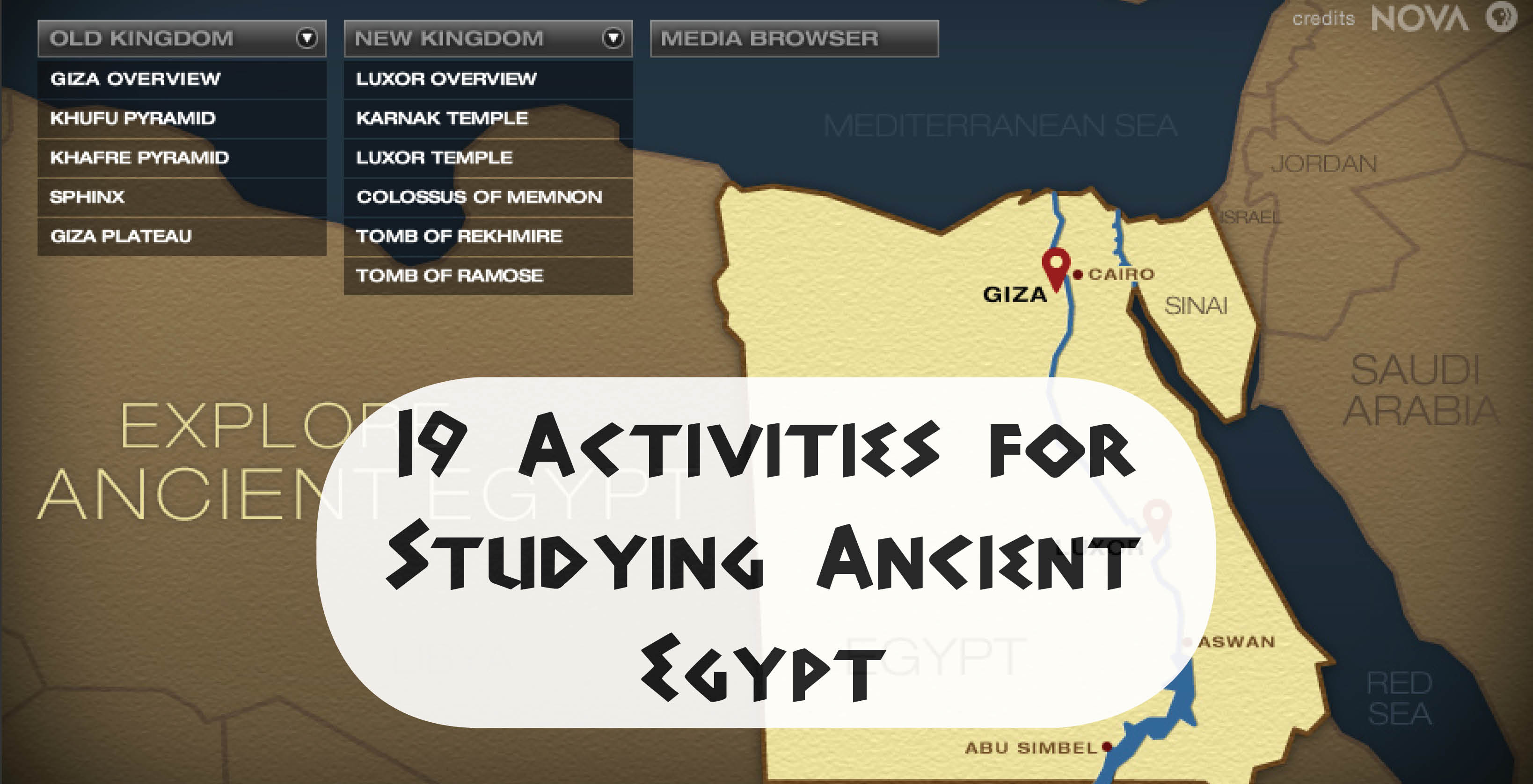 19 Activities For Ancient Egypt