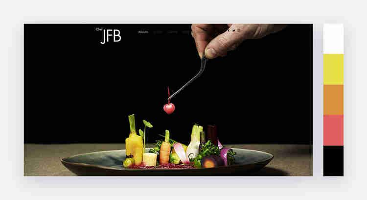diverse website color scheme by jean francois bury