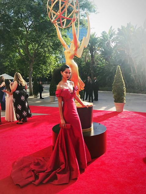 Christina Cooper At Emmy Awards