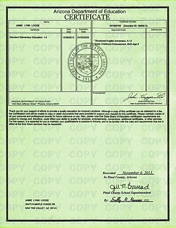 Daycare Preschool Teaching License