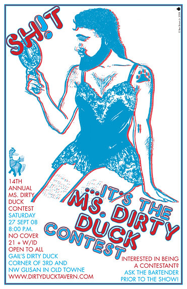 Final Ms Dirty Duck Poster