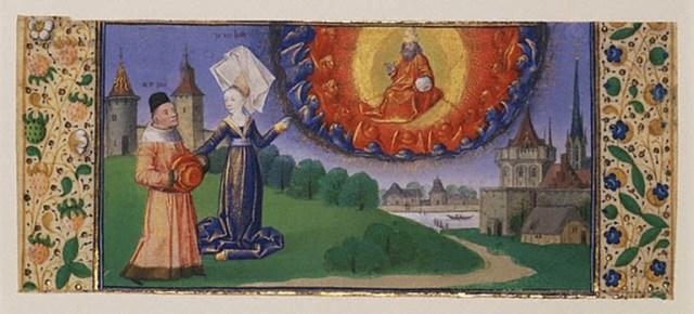 Философия ведёт Боэция к просветлению (1460–70)