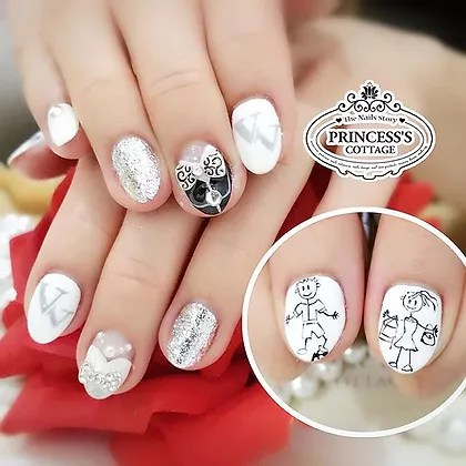 Bridal Nail Arts Princess S Cottage