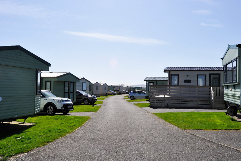 3-7nt Dumfries and Galloway Seaside Caravan Stay for up to 4