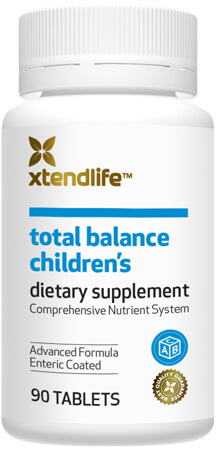 Total Balance Children's - Containing over 85 bio-active ingredients which support your child's immune system, development, and vision.