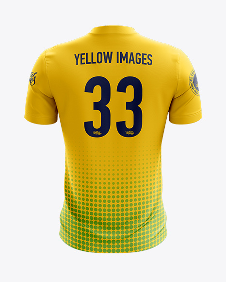 Download Soccer Jersey Mockup - Back View in Apparel Mockups on ...