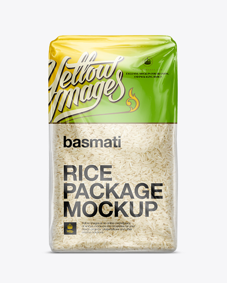 Download Free PSD Mockup Basmati Rice Package Mockup Object Mockups ...