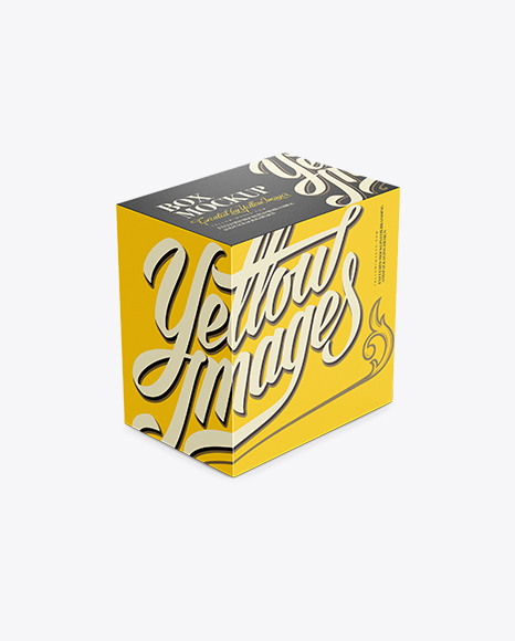Download Free Vertical Box Mockup Yellowimages