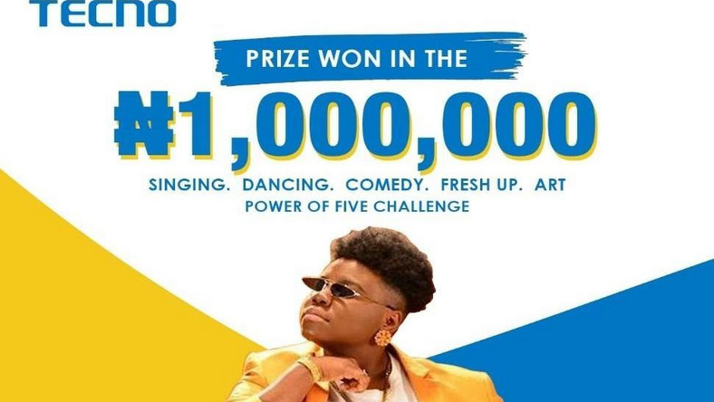 TECNO gives away 1 million naira as it wraps up the Spark 5 Talent Hunt