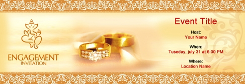 Free Engagement Invitation With India S