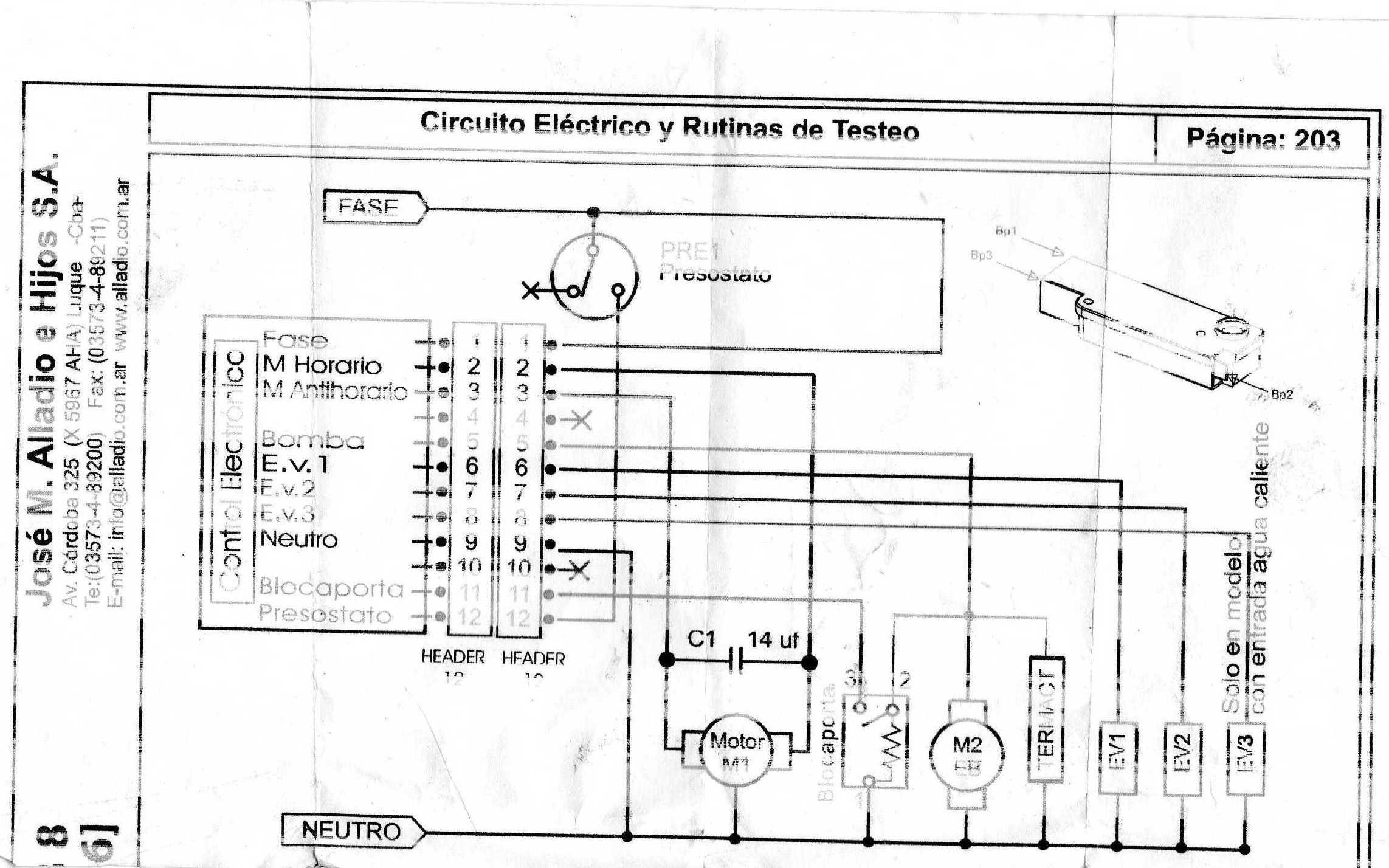 Conexion De Lavarropas Drean Concept Unicommand 116