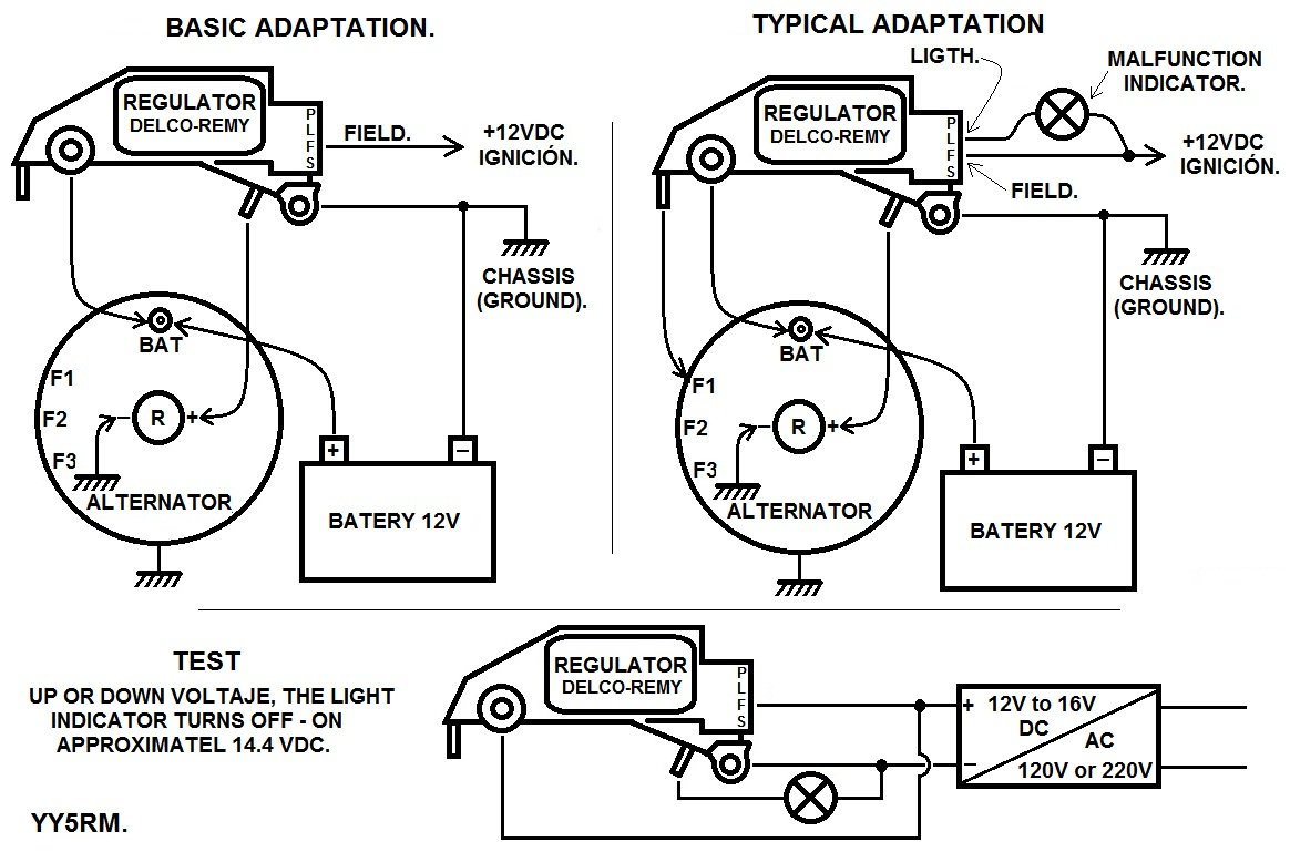 Bosch Regulator Schematic