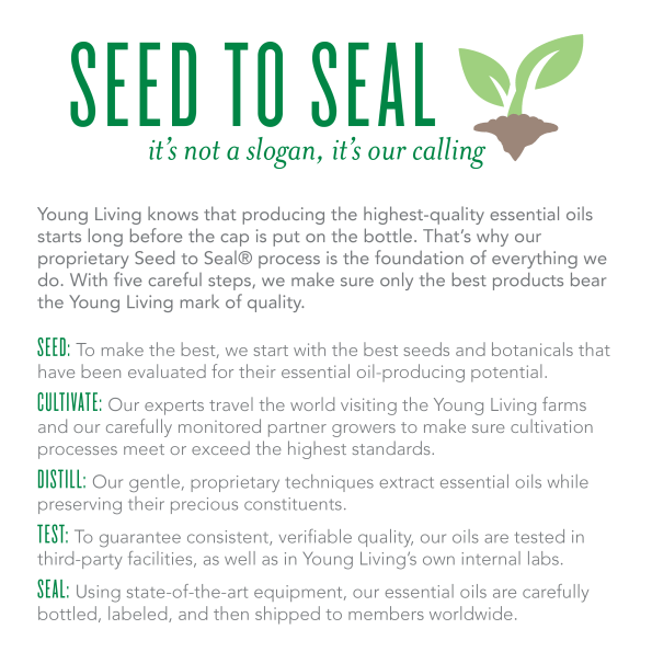 Young Living Seed to Seal Promise