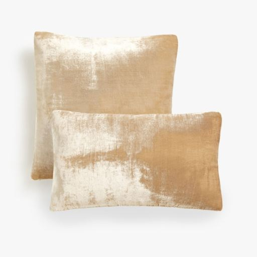 Zara gold velvet cushion covers