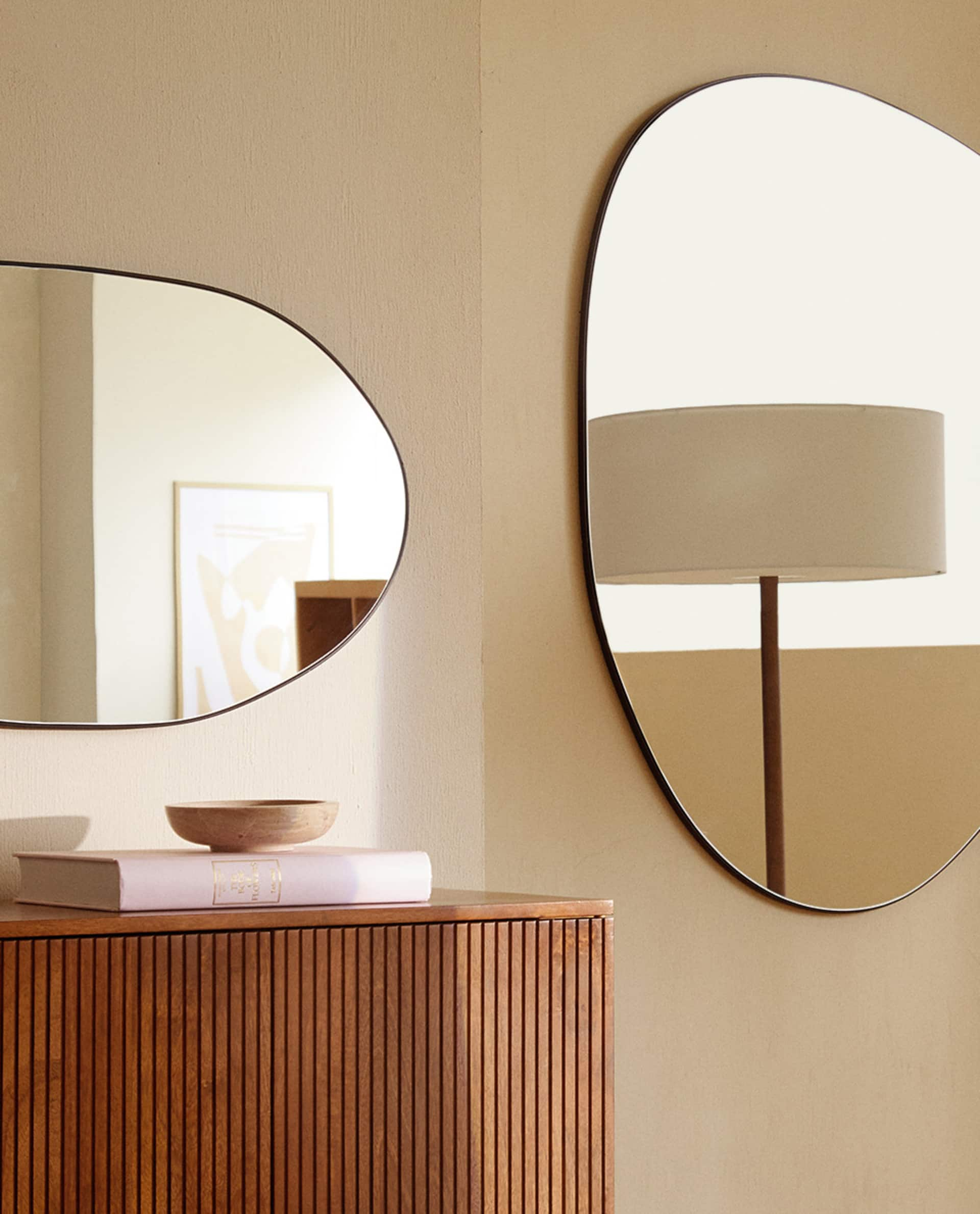 Irregular Shaped Mirrors Zara Home United Kingdom