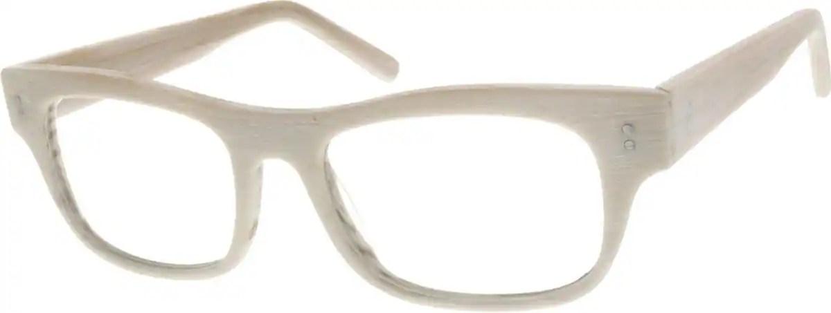 Cream Acetate Full Rim Frame 3093 Zenni Optical Eyeglasses