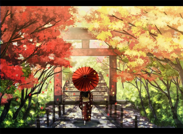 autumn anime