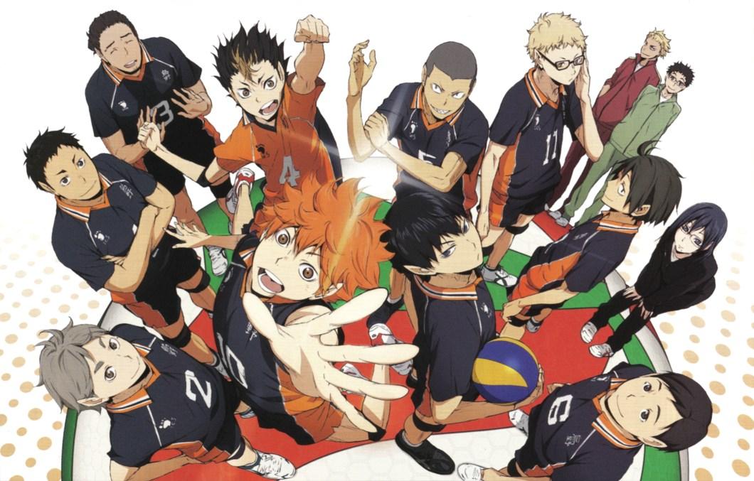 Anime Keren Terbaik Olahraga Voli, Haikyuu!!