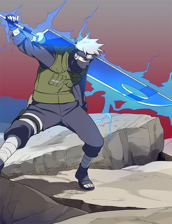 Naruto Kakashi Anbu Sword