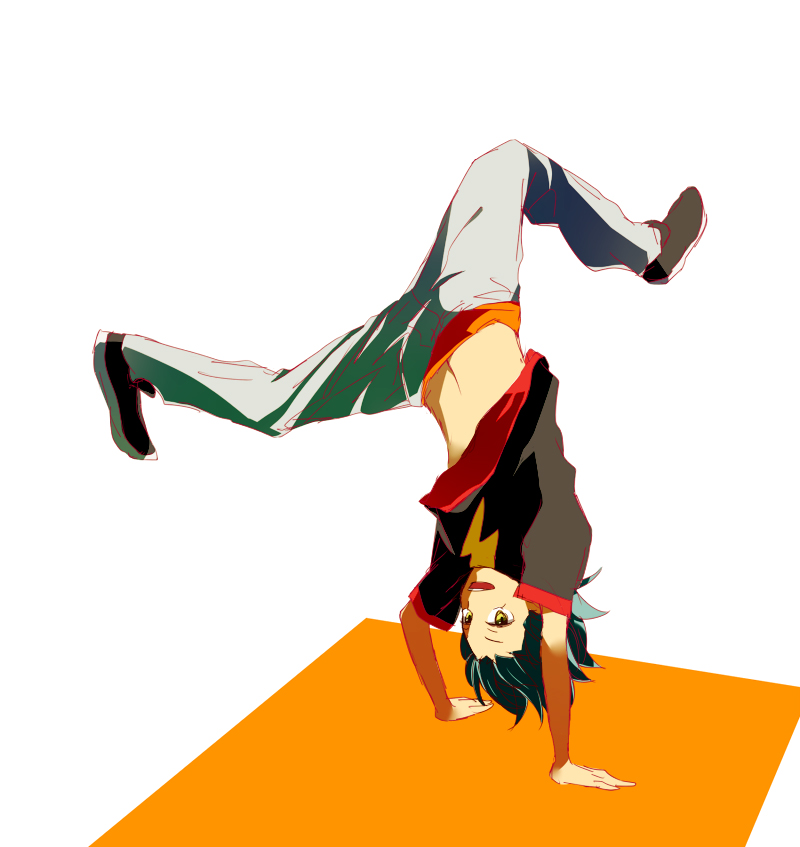 Handstand Zerochan Anime Image Board