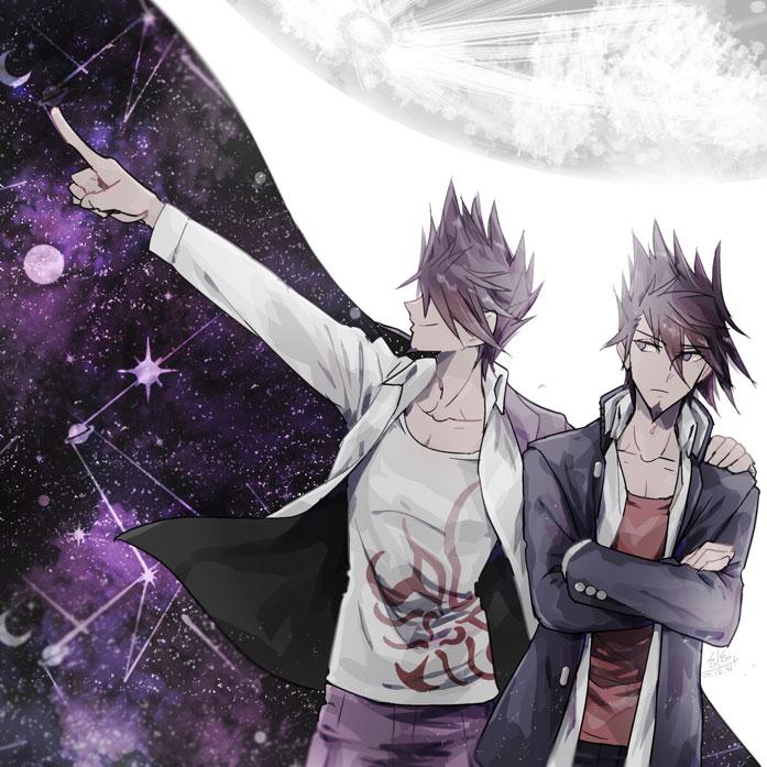 Tags: Anime, Pixiv Id 22929515, New Danganronpa V3, Momota Kaito, Galaxy, Fanart From Pixiv, Pixiv, Fanart