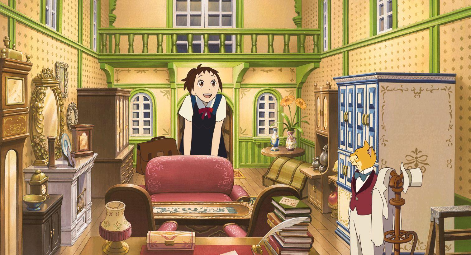 Descarga Haru en el Reino de los Gatos Neko no Ongaeshi