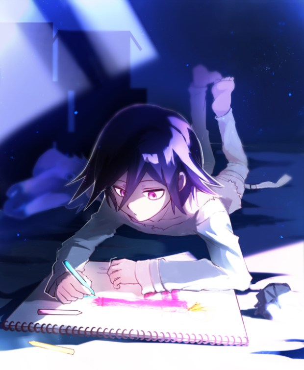 Tags: Anime, Pixiv Id 3128809, New Danganronpa V3, Ouma Koukichi, Drawing (Action), Pixiv, Fanart, Fanart From Pixiv, PNG Conversion