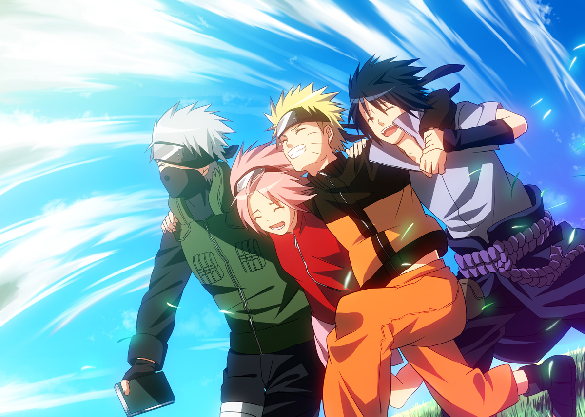 team 7 - naruto - image #309159 - zerochan anime image board