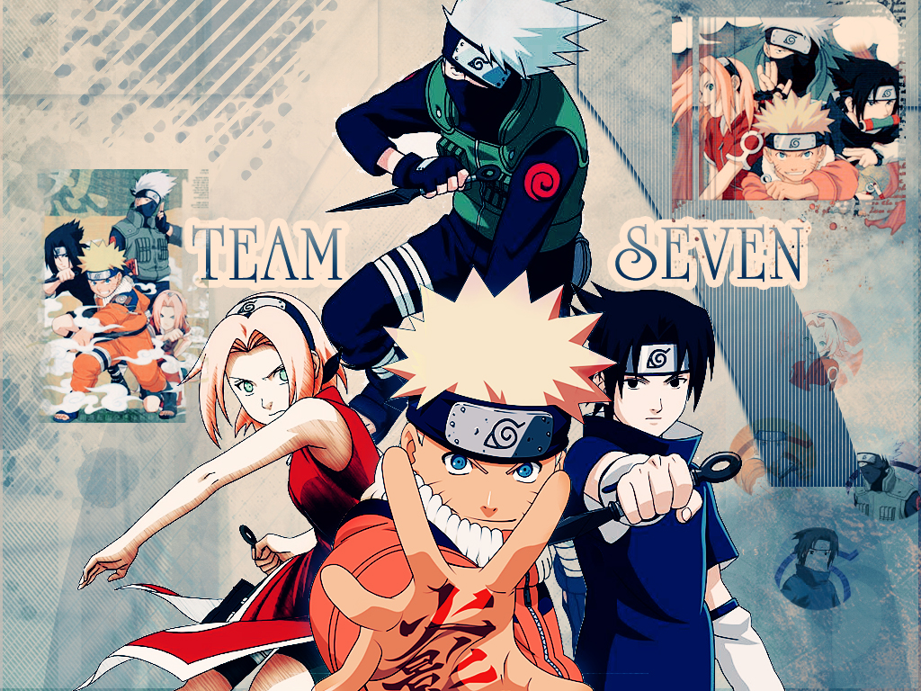 team 7 - naruto - wallpaper #924463 - zerochan anime image board