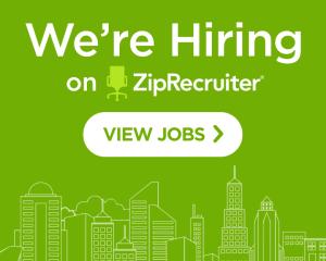We're Hiring on ZipRecruiter