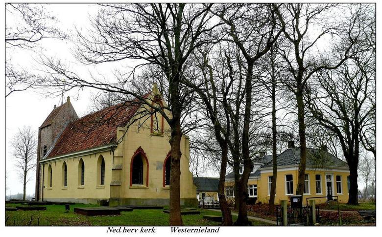 Afbeeldingsresultaat voor kerk westernieland