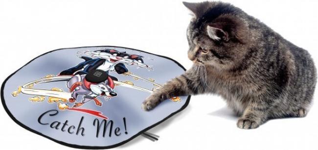 tapis de jeu electrique pour chat