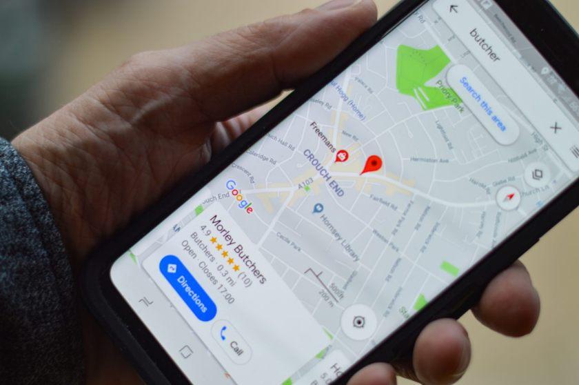 google maps no celular