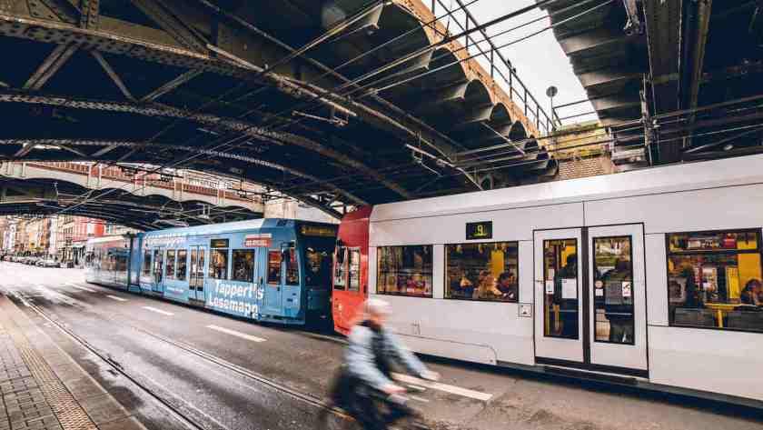 bonde eletrico metro europa