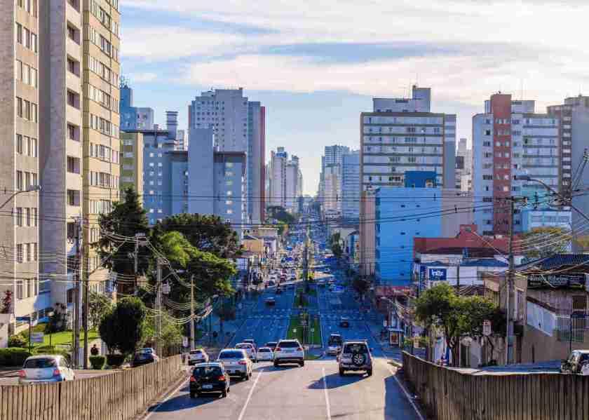 avenida visconde de guarapuava centro curitiba parana