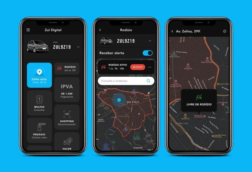 aplicativo Rodizio sp de carros mapa