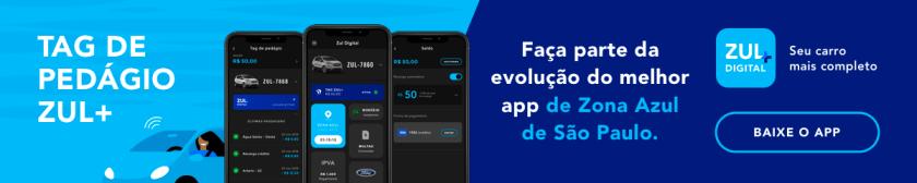 banner tag de pedagio zul+ evolução do app