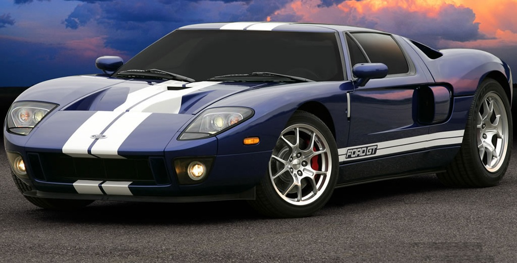 About A Few Decades Later Ford Brought Back The Gt Above Without The  Because The Revised Gt Was  Inches Tall The Car Got A Down Sized V