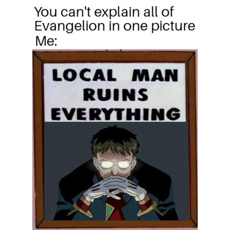 Evangelion Memes For Nervous Teens Home Facebook