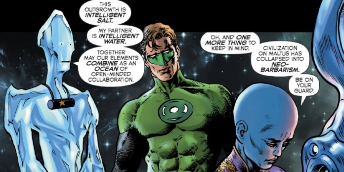 DC Comics Green lantern Season 2 Grant Morrison