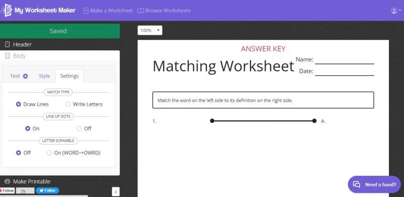 my-worksheet-maker-screenshot