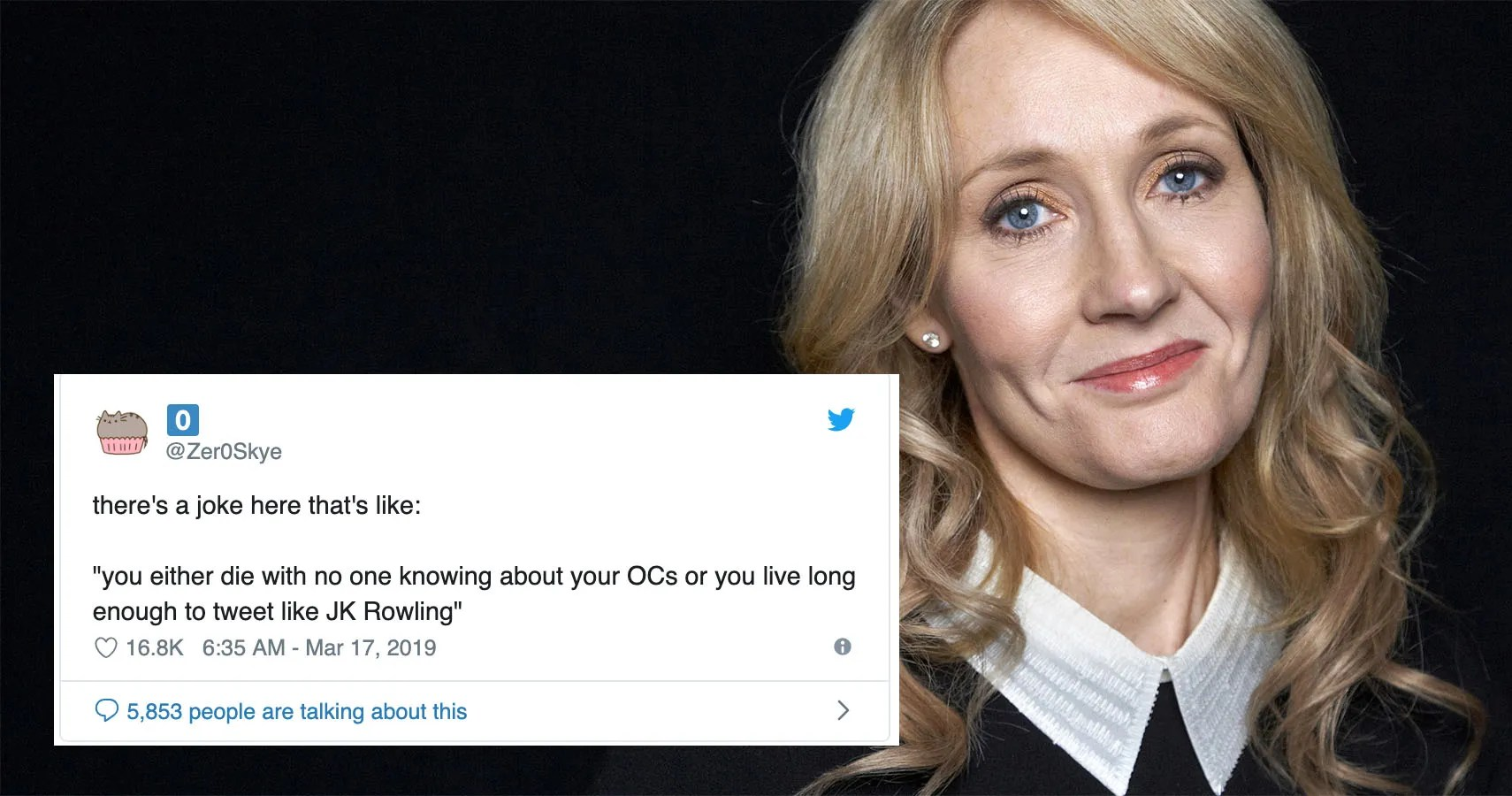 J K Rowling Has Transcended Into A Living Meme
