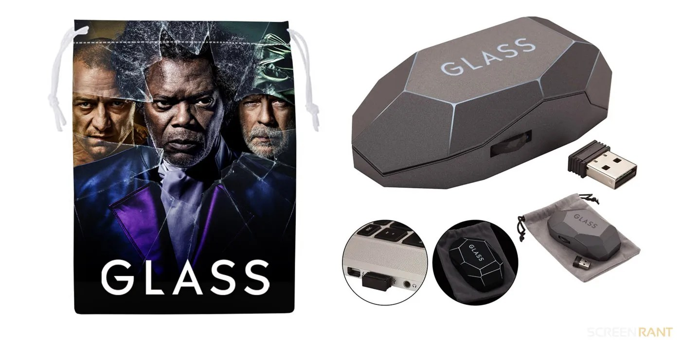 2e2a9f5a5a2 GIVEAWAY: Win A Signed M. Night Shyamalan Glass Prize Bundle ...