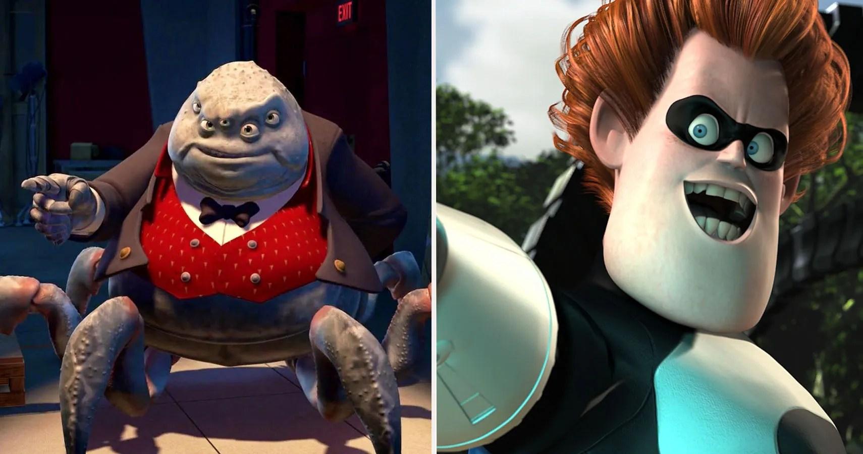 10 Most Evil Pixar Villains Ranked Screenrant