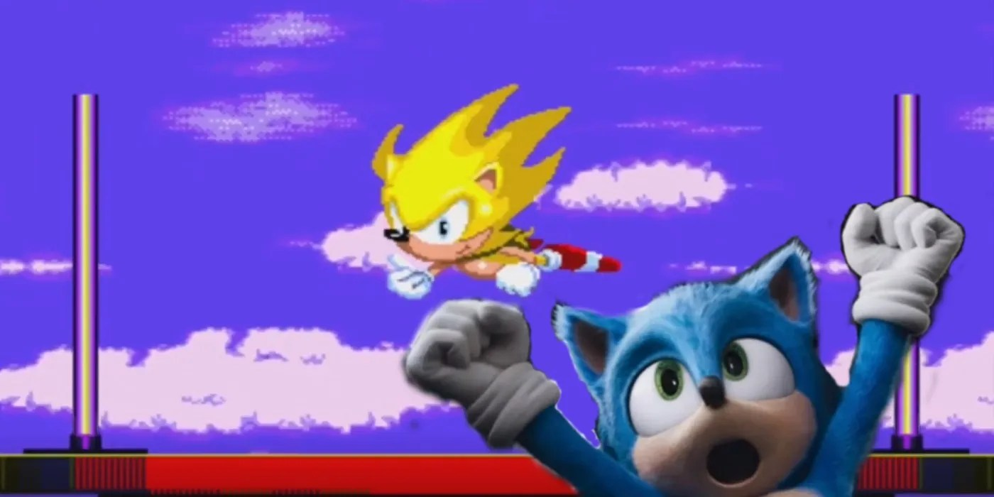 Sonic The Hedgehog Movie Almost Included A Powered Up Super Sonic
