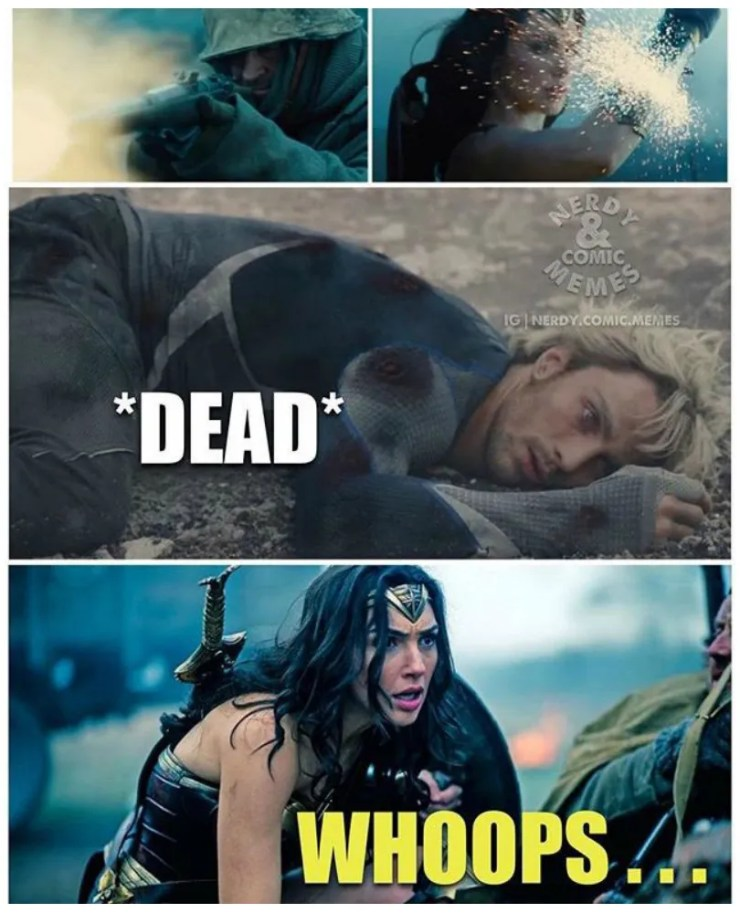 Wonder Woman 10 Most Hilarious Memes Of All Time Screenrant