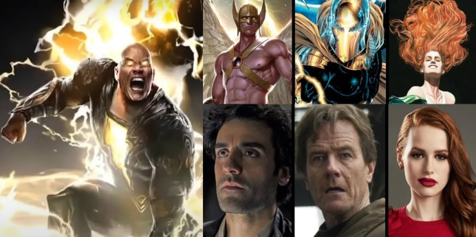 Casting The DCEU's Justice Society For Black Adam   Screen Rant